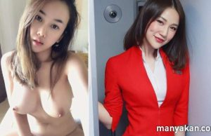 Air Asia Flight Attendant Jujuzzy Nude Sex Scandal