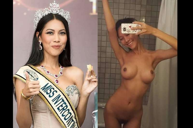 Boonyanee Sungpirom Nude Thailand Miss Intercontinental 2015 Scandal Full Asian Leaked Sex