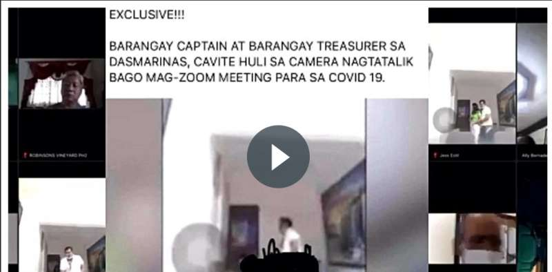 Viral Barangay Zoom Sex During Meeting New Normal Scandal